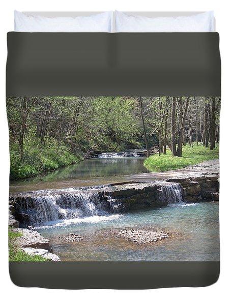 Multiple Waterfalls Duvet Cover