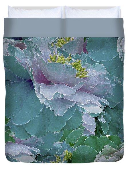 Multiplicity 23 Duvet Cover by Lynda Lehmann