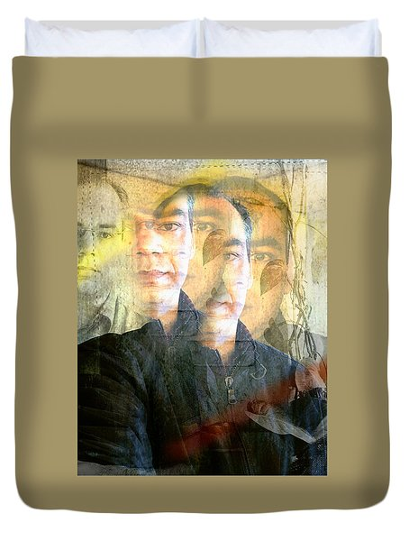 Duvet Cover featuring the photograph Multiverse by Prakash Ghai