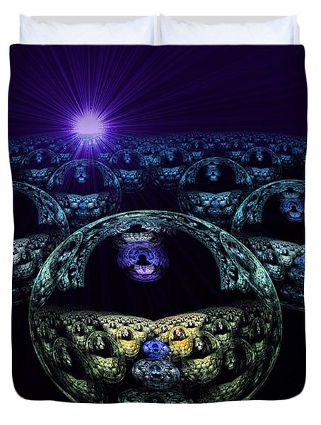 Multiverse Duvet Cover