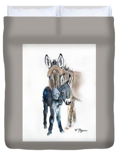Mummy Donkey Duvet Cover