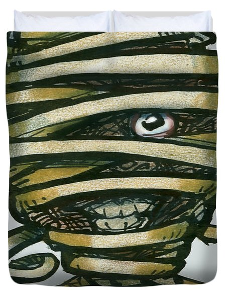 Mummy  Duvet Cover