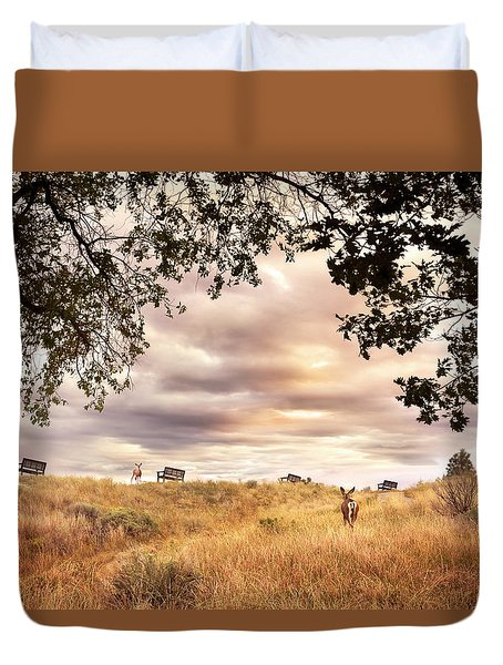 Munson Morning Duvet Cover
