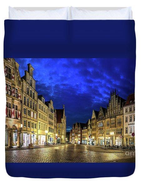 Munster Prinzipalmarkt Duvet Cover