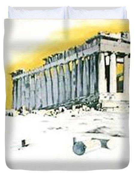 Mural Duvet Cover