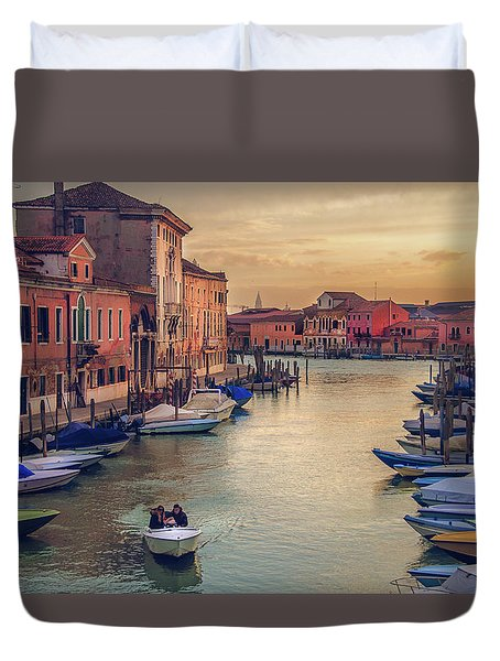Murano Late Afternoon Duvet Cover