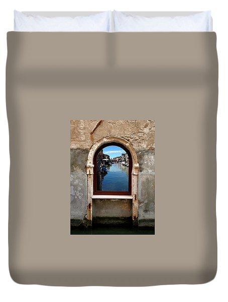 Murano Reflection Duvet Cover