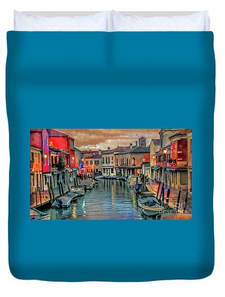 Murano Twilight Duvet Cover