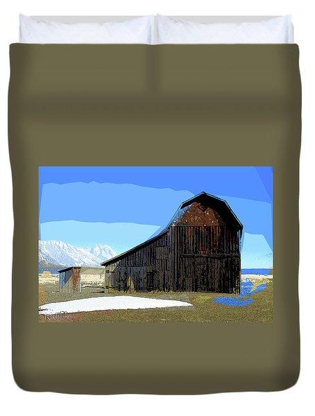 Murphy's Barn Duvet Cover