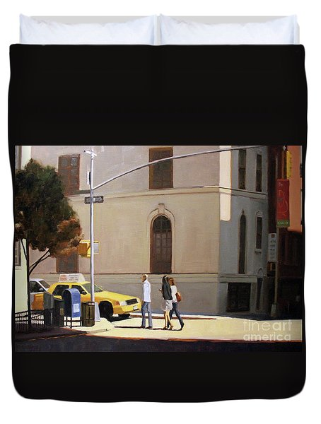 Murray Hill Duvet Cover