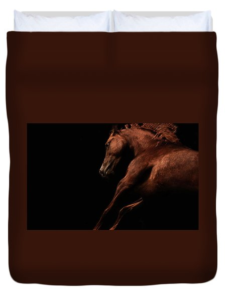 Muscle And Motion Duvet Cover