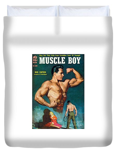 Muscle Boy Duvet Cover