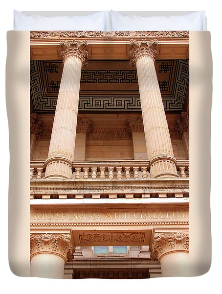 Museum And Art Gallery Entrance Duvet Cover by Stephen Melia