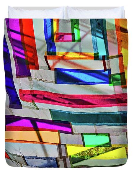Museum Atrium Art Abstract Duvet Cover