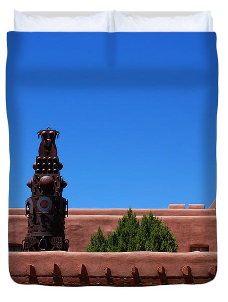 Museum Of Indian Arts And Culture Santa Fe Duvet Cover by Susanne Van Hulst