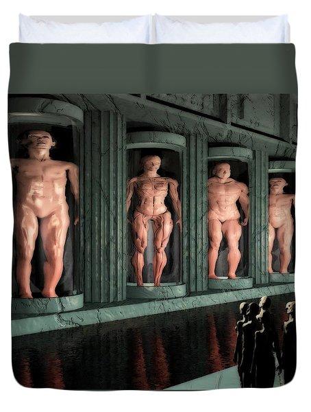 Museum Of Inner Demons Duvet Cover