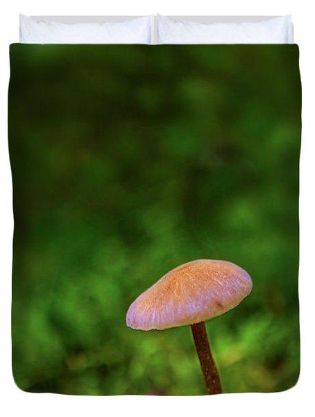 Mushflower Duvet Cover