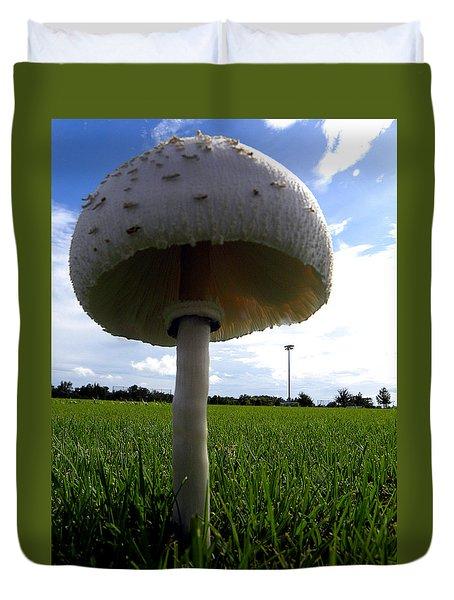 Mushroom 005 Duvet Cover by Chris Mercer