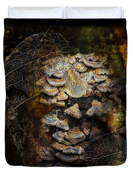 Mushroom Goddess 2 Duvet Cover