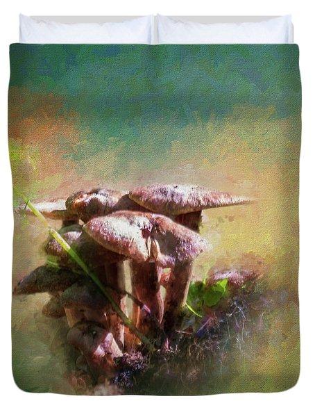 Mushroom Patch Duvet Cover