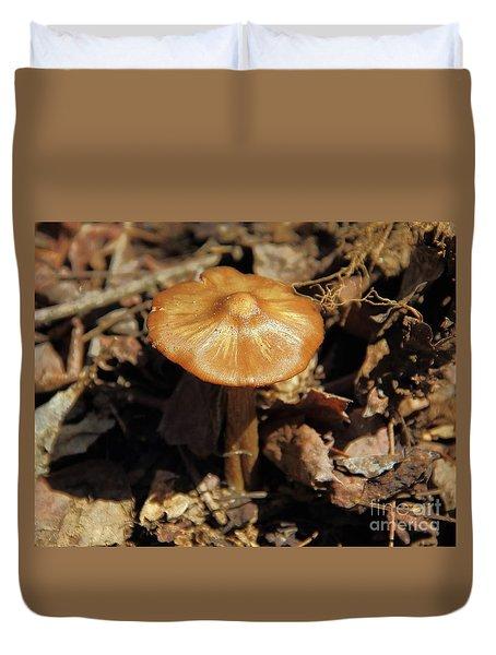 Mushroom Rising Duvet Cover