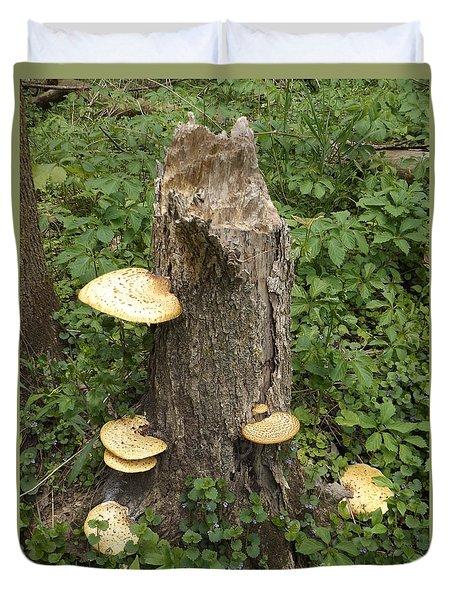 Mushroom Stump Duvet Cover