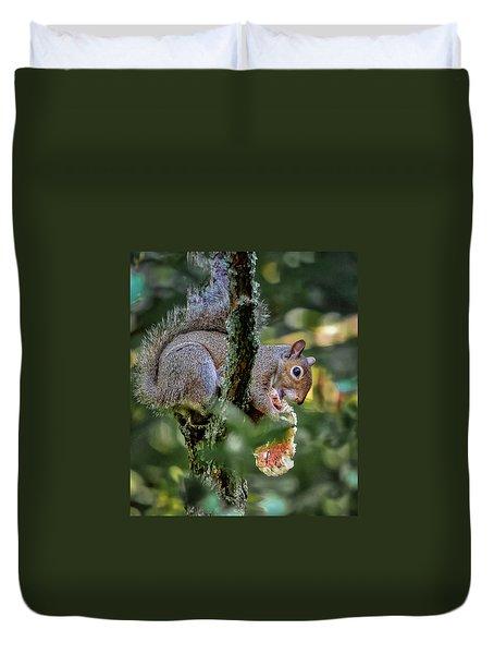 Mushroom Treat Duvet Cover