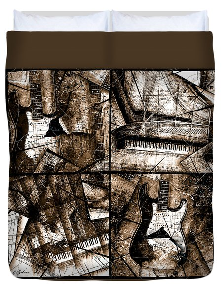 Music Box II  Duvet Cover
