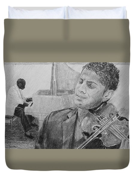 Music For The Soul Duvet Cover