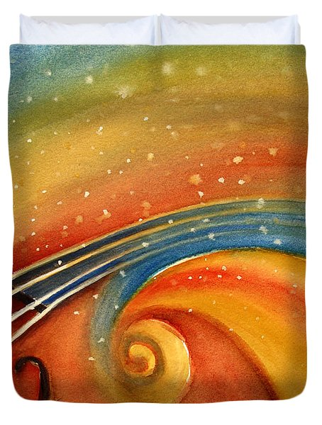 Music In The Spirit Duvet Cover