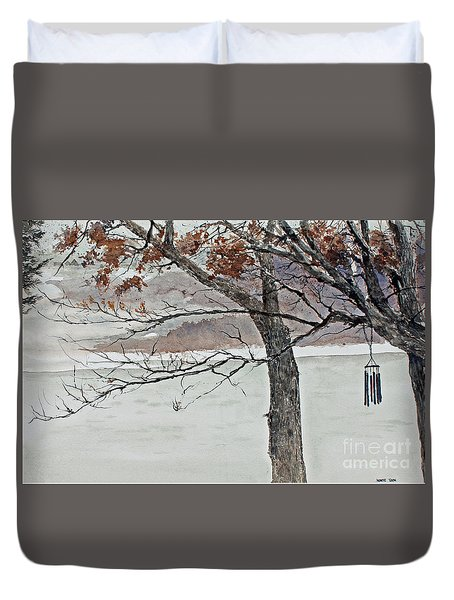 Music Of The North Wind Duvet Cover