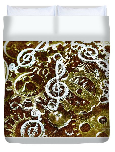 Music Production Duvet Cover
