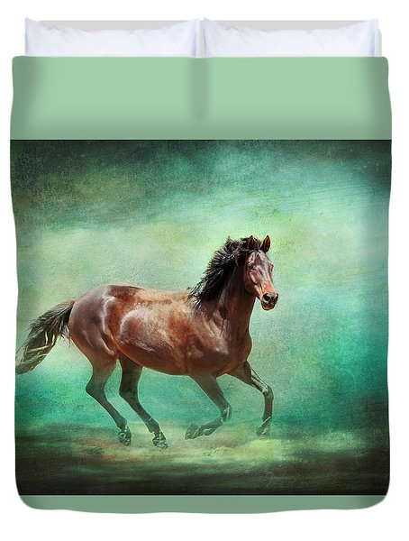 Music To My Ears Duvet Cover