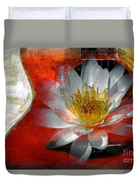 Musical Beauty Duvet Cover by Clare Bevan