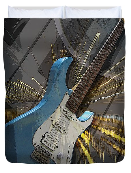 Musical Poster Duvet Cover