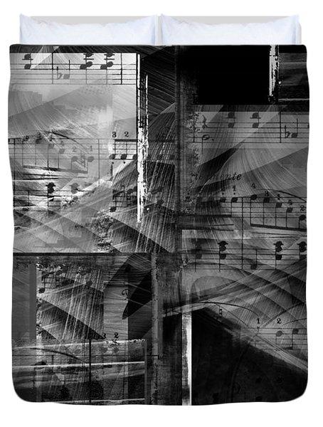 Musical Steps... Duvet Cover