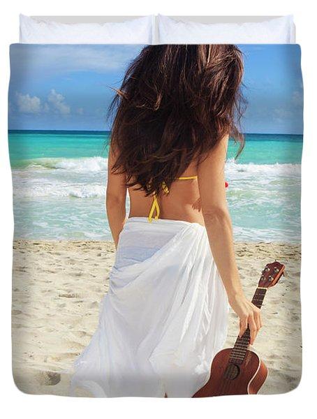 Musicians Paradise Duvet Cover by Tomas Del Amo - Printscapes