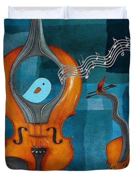 Musiko Duvet Cover