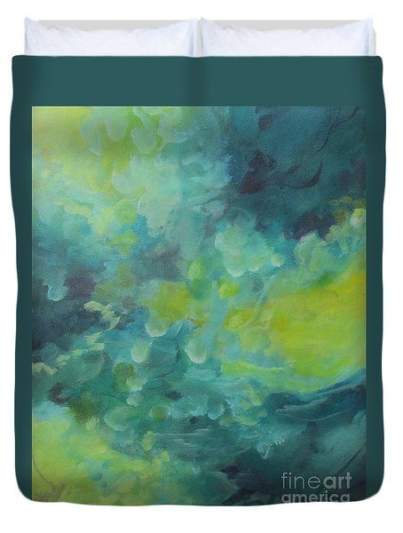 Musing 117 Duvet Cover by Elis Cooke