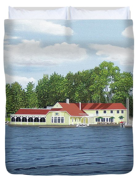 Muskoka Lakes Golf And Country Club Duvet Cover