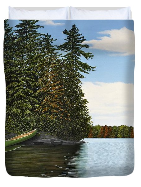 Muskoka Shores Duvet Cover