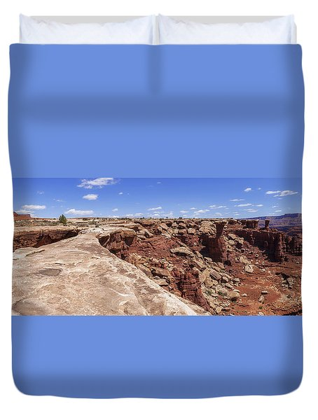Musselman Arch Duvet Cover by Chad Dutson