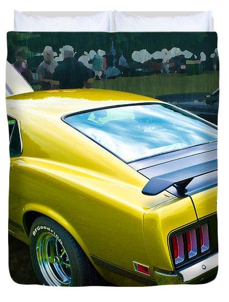 Mustang Boss 302 Duvet Cover
