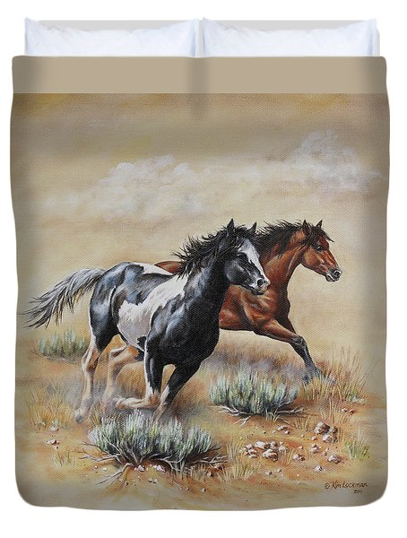Mustang Glory Duvet Cover