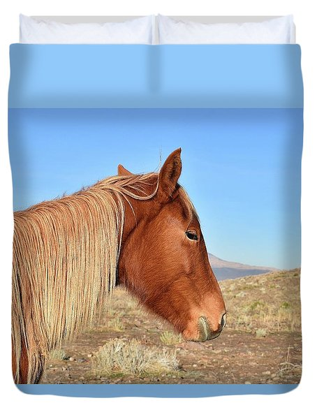 Mustang Mare Duvet Cover