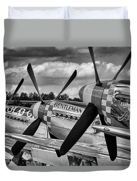 Mustang Row Duvet Cover