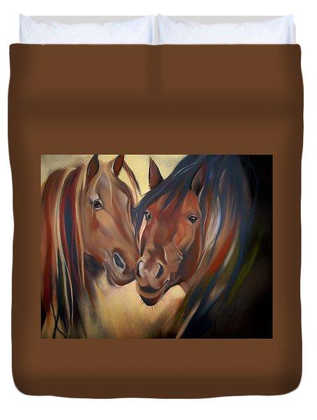 Mustangs Duvet Cover
