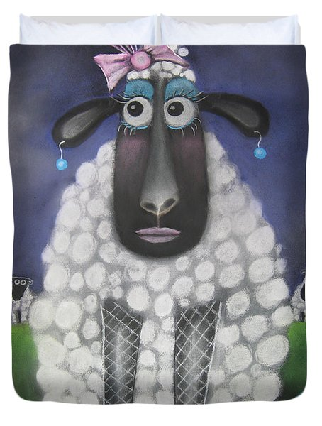Mutton Dressed As Lamb Duvet Cover
