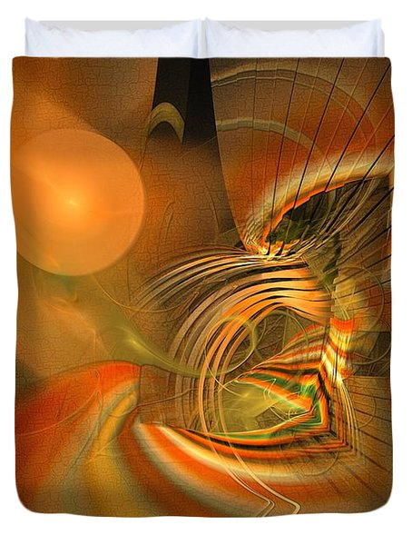 Mutual Respect - Abstract Art Duvet Cover