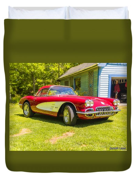 My 1960 Corvette Duvet Cover